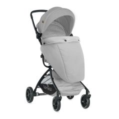 Прогулочная коляска Lorelli Sport с накидкой на ножки, цвет: grey
