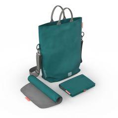 Сумка для мамы Greentom Diaper Bag, цвет: бирюзовый