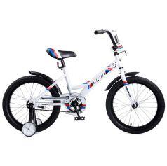 Двухколесный велосипед Navigator Bingo, цвет: белый