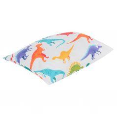 Зайка Моя Подушка Динозавры 40 х 60 см, цвет: белый