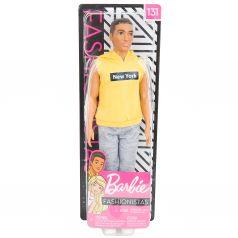 Кукла Barbie Игра с модой Серые штаны желтая футболка