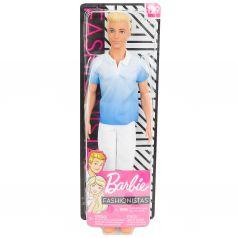 Кукла Barbie Игра с модой Белые штаны голубая рубашка