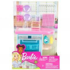 Набор мебели для кукол Barbie Отдых дома Кухня