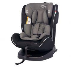 Автокресло Sweet Baby Round Trip SPS Isofix, цвет: grey/black