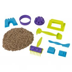 Набор песка для лепки Kinetic sand Веселая пляжная игра