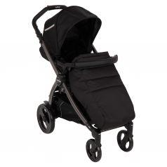 Прогулочная коляска Peg-Perego Book Plus Pop Up с шасси Book 51 Titania B/W, цвет: class black