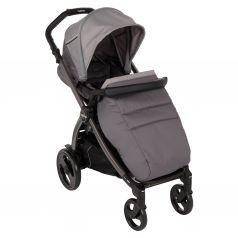 Прогулочная коляска Peg-Perego Book Plus Pop Up с шасси Book 51 Titania B/W, цвет: class grey