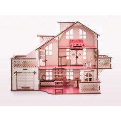 Кукольный дом Iwoodplay с гаражем 57 х 27 х 35