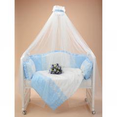 Комплект постельного белья Sweet Baby Dolce Vita, цвет: голубой подушка 40 х 60 см