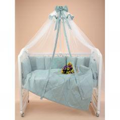 Комплект постельного белья Sweet Baby Splendore, цвет: мятный подушка 40 х 60 см
