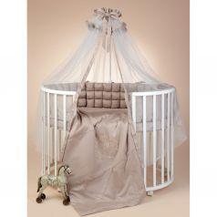 Комплект постельного белья Sweet Baby Bellezza, цвет: белый подушка 40 х 60 см