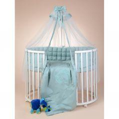 Комплект постельного белья Sweet Baby Bellezza, цвет: мятный подушка 40 х 60 см