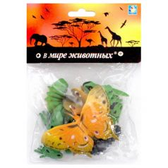 Набор 1Toy В мире животных Лягушки и бабочки 19 х 14 х 4