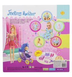 Кукла Defa с наборе с аксессуарами 28 см