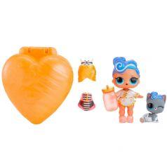 Игрушка LOL Surprise Шипучий сюрприз кукла и питомец оранжевый