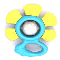 Погремушка Нордпласт Цветочек, 11 х 10 х 3.5 см