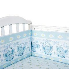 Борт Baby Nice Слоненок, цвет: голубой 4 предмета бортик 2 шт 120 х 35 см
