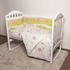 Борт Baby Nice Ферма, цвет: желтый 4 предмета бортик 2 шт 120 х 35 см