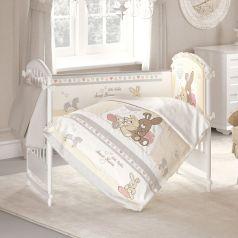 Комплект постельного белья Baby Nice Милый дом, цвет: белый 6 предметов подушка 40 х 60 см