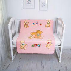 Baby Nice Одеяло байковое Семья медвежат 100 х 140 см