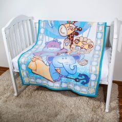 Baby Nice Одеяло байковое Воздушные шары 100 х 140 см