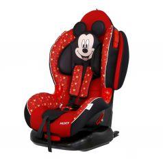 Автокресло Siger Кокон Disney Микки Маус, цвет: красный/звезды