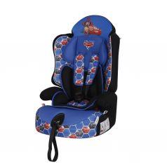 Автокресло Siger Драйв Disney Тачки, цвет: синий/ячейки