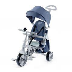 Трехколесный велосипед Kinderkraft Jazz, цвет: denim