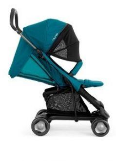 Прогулочная коляска Nuna Pepp Luxx с бампером, цвет: emerald