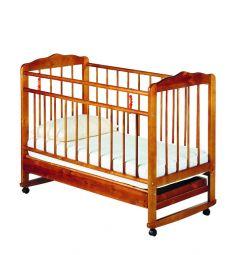 Кровать-качалка ИП Смирнов Женечка-4, цвет: вишня
