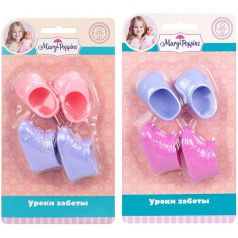 Обувь для куклы 38-43 см Mary Poppins ботиночки и туфли,