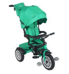 Детский трехколесный велосипед McCan M-1, цвет: зеленый