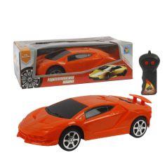 Машина 1Toy Спортавто на радиоуправлении оранжевая 17 см 1 : 26