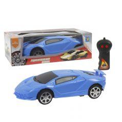 Машина 1Toy Спортавто на радиоуправлении синяя 17 см 1 : 26