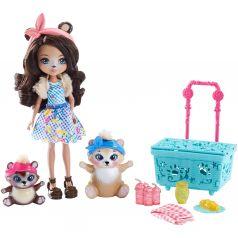 Кукла Enchantimals Pause Pique 15 см