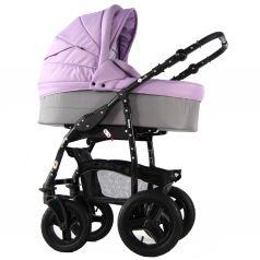 Коляска-люлька для новорожденного Sevillababy Mirra, цвет: сиреневый/светло-серый