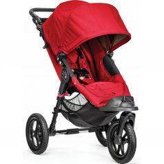 Прогулочная коляска Baby Jogger City Elite, цвет: red