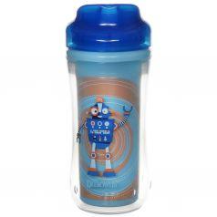 Чашка-термос Dr.Brown's Монстр без носика, с 12 месяцев, цвет: синий