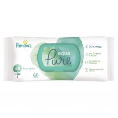 Влажные салфетки Pampers Aqua Pure Single Детские, 48 шт