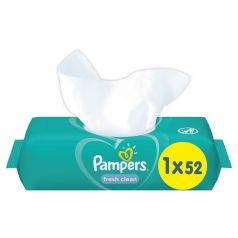 Влажные салфетки Pampers Fresh Clean детские, 52 шт