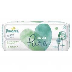 Влажные салфетки Pampers Aqua Pure Duo Детские, 96 шт
