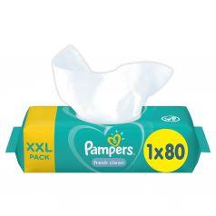 Влажные салфетки Pampers Fresh Clean детские, 80 шт