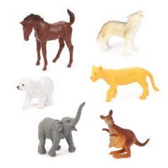 Набор животных Shantou Gepai Jungle animal 8 см