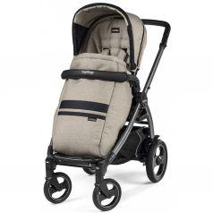 Прогулочная коляска Peg-Perego Book Plus S Pop Up с шасси Book 51 S Titania, цвет: luxe ecru