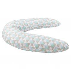 Подушка для беременных Leader Kids Ромбы, цвет: голубой