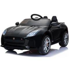 Электромобиль Toyland Jaguar F-type, цвет: черный