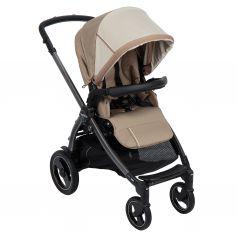 Прогулочная коляска Peg-Perego Book Plus S Pop Up с шасси Book 51 S Titania, цвет: class beige