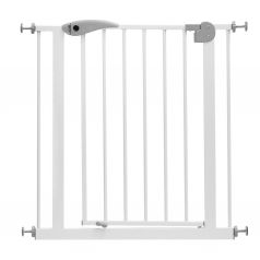 Ворота безопасности Baby Safe для дверного проема (75-85 см), цветбелый/серый