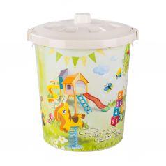 Контейнер для хранения Альтернатива Мир игрушек, цвет: белый