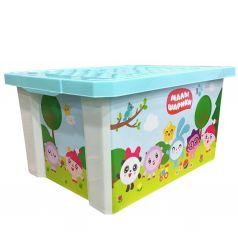 Ящик для хранения Little Angel Малышарики, цвет: бирюзовый